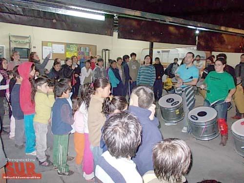 Juego De Baño En Quilmes: de calle añadió, a su tradicional jornada de viernes en el Hogar de